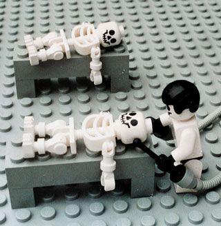 Zbigniew LIbera. Lego. Concentration Camp, 1996, studio photograph, 20 x 30 cm (fragment),