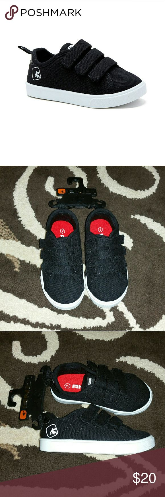 Toddler Boy Shoe's AND1, Toddler Boy Shoe's,  Size 7  Color Black/White  Brand new, Never worn,  Comfort padded insole, Easy on/Easy off,  Sweet looking Boy Shoe's!!! Have any questions before purchase just ask and I'll try to answer!!!  All sales are final!!!  NO RETURNS!!! And1 Shoes Sneakers