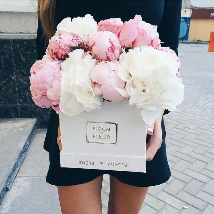 Bloom de fleur bouquet roses peonies florals baby pink pinterest - Photos bouquets de fleurs ...