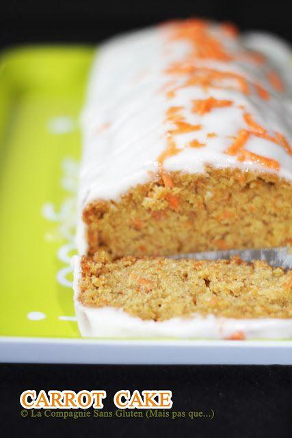 La-Compagnie-Sans-Gluten, un blog-sans-gluten-et-sans-lait, bio-et-végétarien !: Carrot cake - sans gluten, sans lait, sans soja, sans fruit...