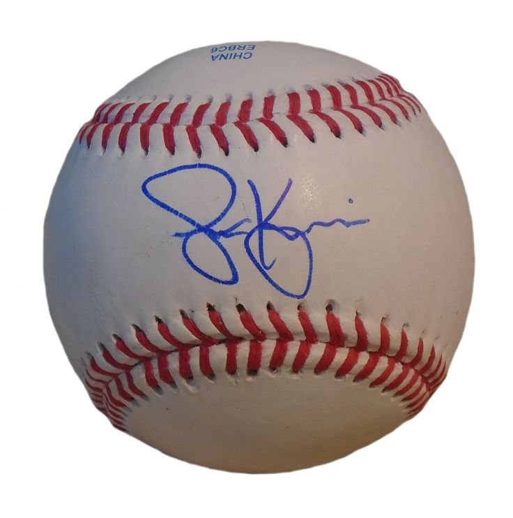 Cleveland Indians Scott Kazmir signed Rawlings ROLB leather baseball w/ proof photo.  Proof photo of Scott signing will be included with your purchase along with a COA issued from Southwestconnection-Memorabilia, guaranteeing the item to pass authentication services from PSA/DNA or JSA. Free USPS shipping. www.AutographedwithProof.com is your one stop for autographed collectibles from Cleveland sports teams. Check back with us often, as we are always obtaining new items.