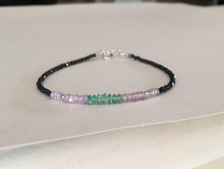 Bracciale smeraldo alta gioielleria zaffiri di ByRachelDiMartino