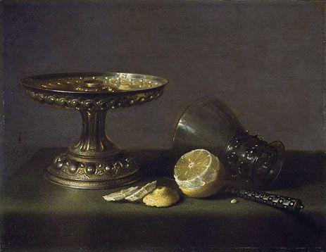 Still Life,1630   Pieter Claesz   Fitzwilliam Museum Cambridge United Kingdom