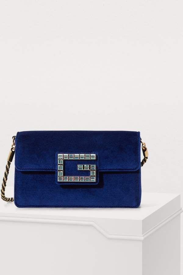3724fa1503f6 Gucci Broadway mini velvet bag