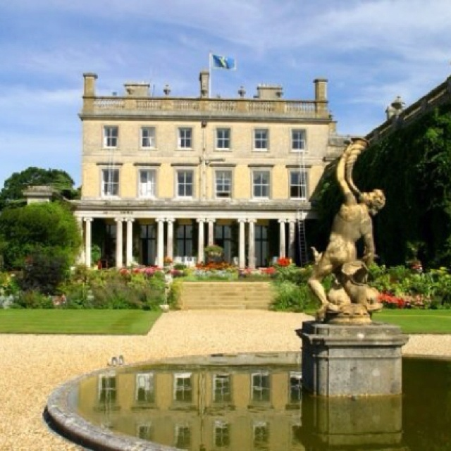 Somerley House - Ringwood,Hampshire. The privately owned stately home of the 6th Earl of Normanton is situated in a magnificent setting on the edge of the New Forest.