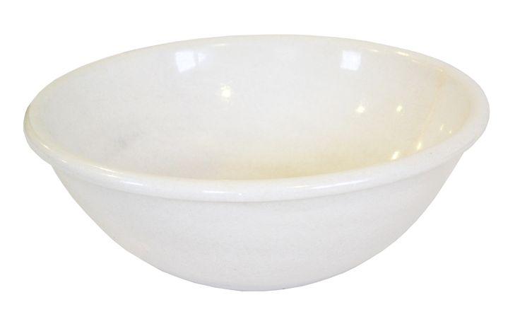 Umywalka nablatowa  Kolor biały Rodzaj kamienia marmur Rodzaj powierzchni polerowana