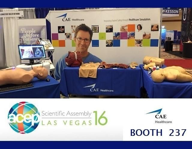 It's ACEP 2016 at the CAE Healthcare booth.jpg