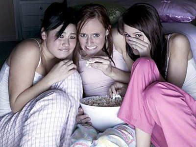 Scary games to play at sleepovers