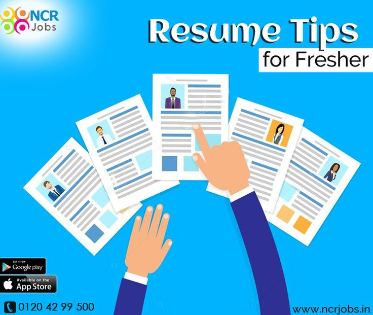 Now the #ResumeTipsForFreshers are available on the prominent job portal. Here the applicants know about the tricks of making an impressive resume so that they can attract the interviewer. See more @ http://bit.ly/2ivN02M Download App @ http://bit.ly/2nxOUn3 #NCRJobs #ResumeTips
