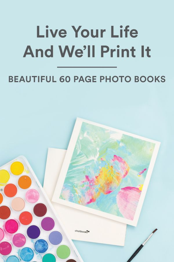 Chatbooks - 60 page photo books only $8!