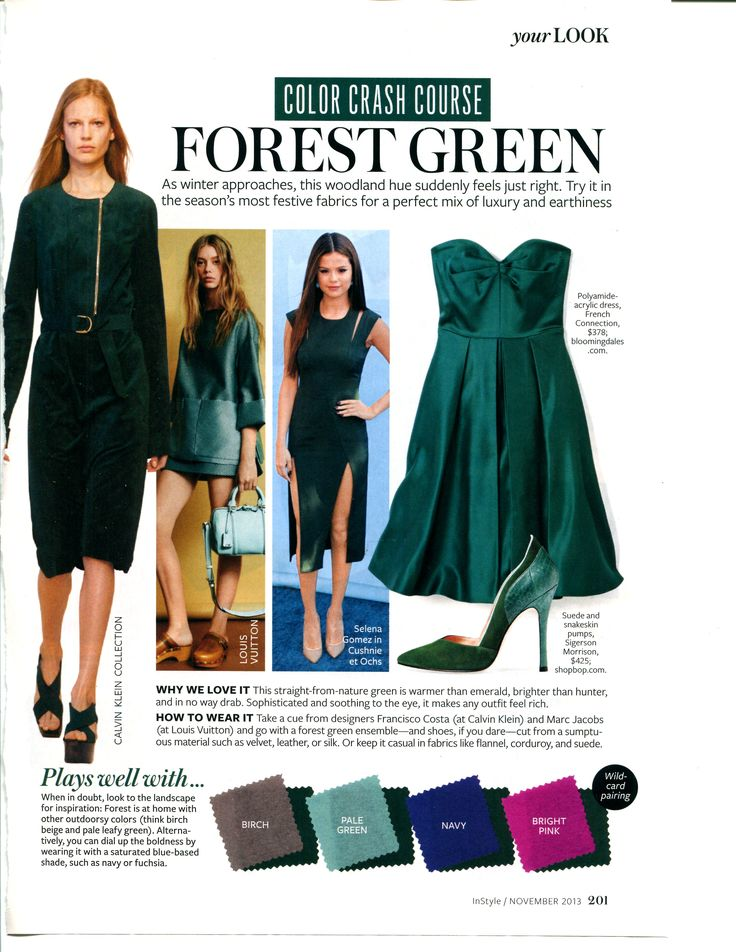 Color Crash Course - Forest Green