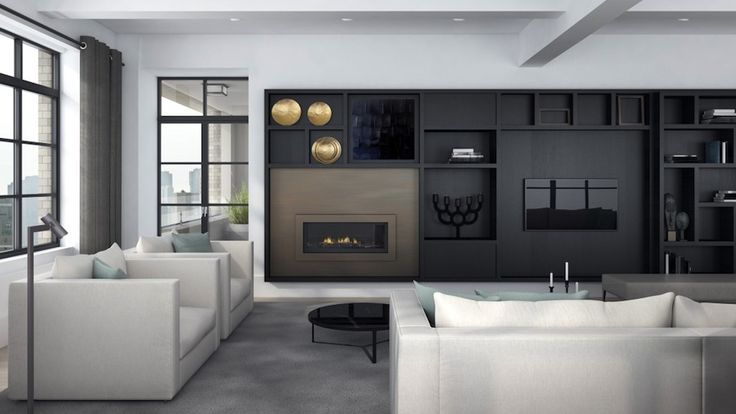 Huys 404 Park Avenue South, NYC, Penthouse by Dutch Designer Piet Boon