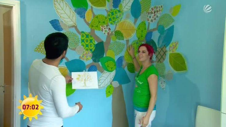 Sie suchen eine schöne Idee für die Kinderzimmer-Wandgestaltung? Wie wäre es, wenn Sie ein Wandtattoo selber machen? Dafür brauchen Sie lediglich etwas Kreativität, Farbe und einen Projektor. Der SAT.1 Ratgeber gibt Tipps fürs Einrichten und Gestalten.