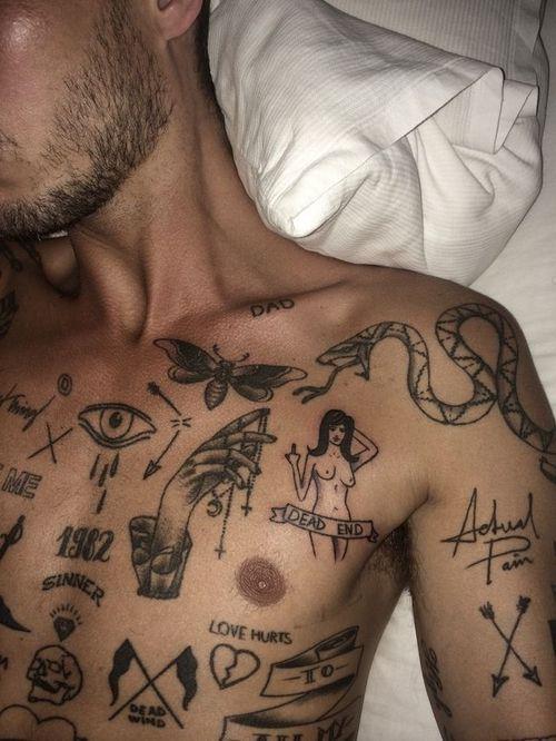 stick n poke traditional tattoo - Google Search