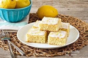 These lemon brownies are lemony, soft, fluffy, moist and less sweet. This Paleo recipe is also, gluten free, dairy free, grain free and refined sugar free.