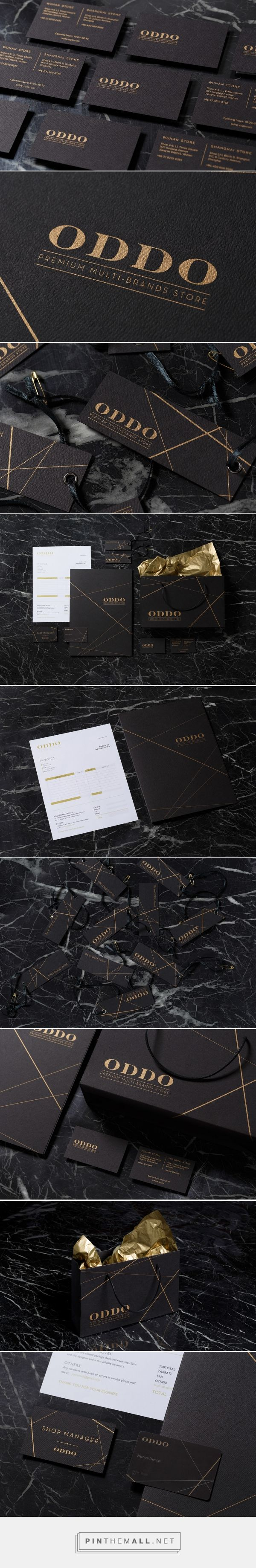 ODDO Fashion Branding and Packaging by Frames | Fivestar Branding Agency – Design and Branding Agency & Curated Inspiration Gallery