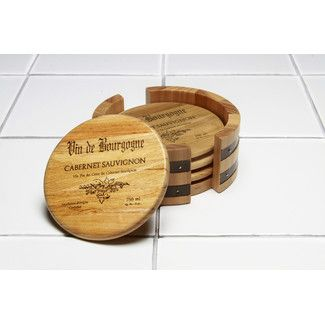 Found it at Wayfair - Thirstystone 5 Piece Wine Cask Coaster Sethttp://www.wayfair.com/Thirstystone-5-Piece-Wine-Cask-Coaster-Set-N215-THST2915.html?refid=SBP.rBAZEVO7AXJnOndlFJ4rAv49-WieJ08lvfpPpQ5t9H0