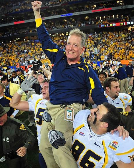 Leave No Doubt! WVU Coach. RIP Bill Stewart.