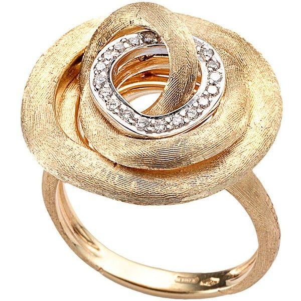 Marco Bicego Diamond Jaipur Link Cocktail Ring ... bloomingdales