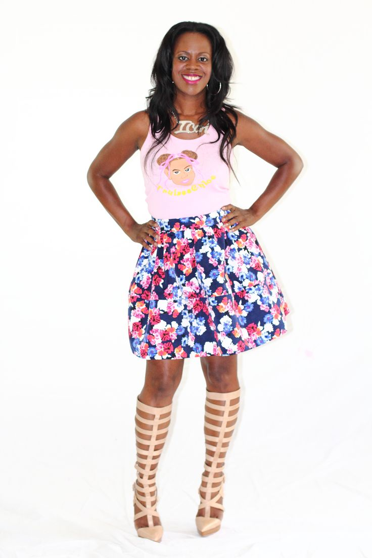 TruLeeChloe Tank (Pink) - $22.00 | Sizes: S, M, L, XL
