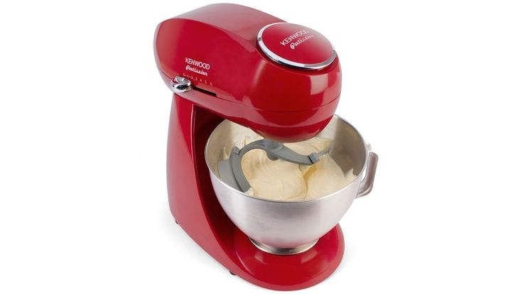 Kenwood Patissier Mixer with Flexi Beater - Red
