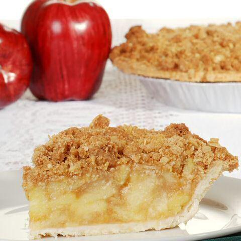 Lekker en makkelijk recept om appeltaart te maken met kruimeldeeg en crumbledeeg