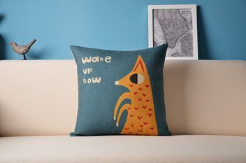 Animal Series - Wake Up Now Cushion Cover