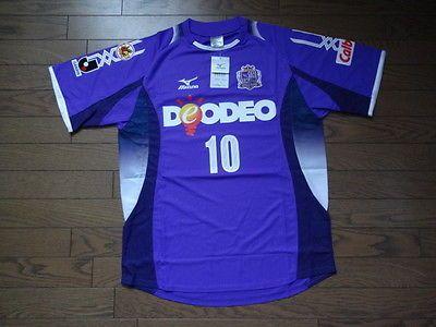 Sanfrecce Hiroshima #10 Kashiwagi 100% Original Jersey 2008 Home BNWT J-League L