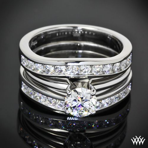 Solitaire Tiffany Bands: 184 Best Images About Solitaire Engagement Rings On