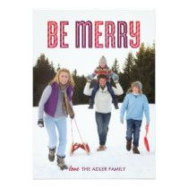 Berry Be Merry Holiday Card