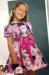 Olá amigas e amigos do blog, tudo bem? eu gosto muito de ver crianças com esses vestidinhos,pra mim isso é roupa que criança tem que usar!!...
