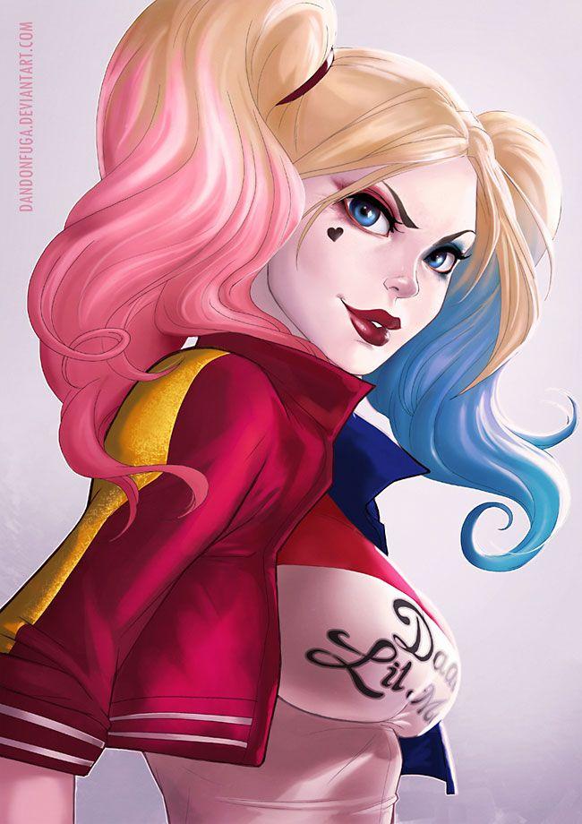 (Suicide Squad movie version) Harley Quinn by dandonfuga.deviantart.com.
