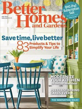 FREE 1 Year Subscription To Better Homes And Gardens Magazine (Available  Again)