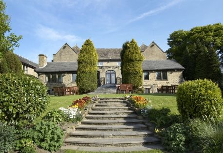 RoomAuction Hotels: The Old Golf House Hotel, #Huddersfield is #elegantly designed in ageless #Yorkshire stone and originally part of the prestigious Outlane Golf Club, the 17th century style #hotel is surrounded by three acres of beautiful gardens