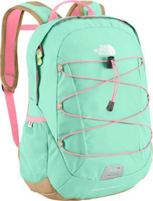 The North Face Happy Camper Kids' Backpack Beach Glass Green/Sugary Pink - via eBags.com!