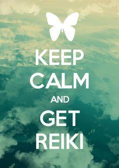 Stay calm. . .Reiki will help you.