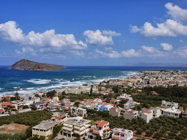 Platanias city - Greece