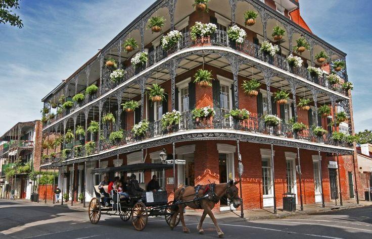Royal Sonesta Hotel on Bourbon Street in New Orleans.