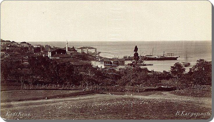 Yeldeğirmeninden Kadıköye  bakış - 1870 ler