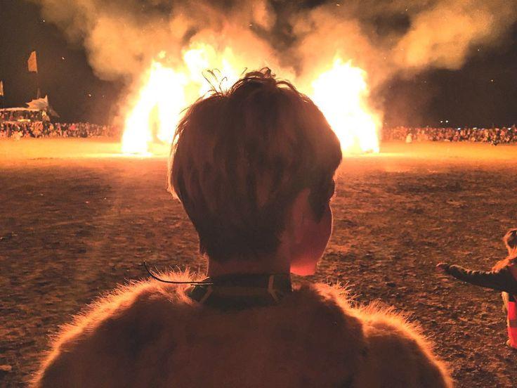 Os irmão do festival Burning Man pelo mundo