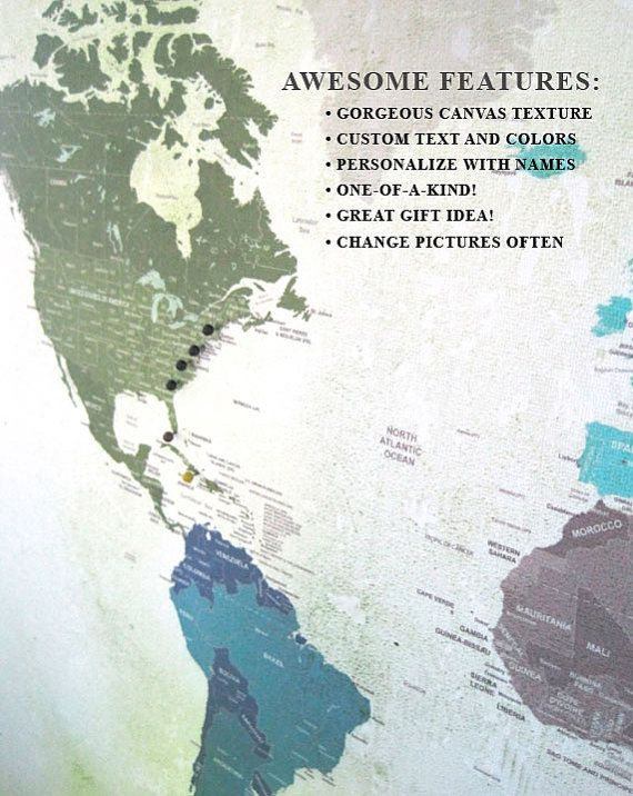 58 best Maps images on Pinterest Cards, Maps and Worldmap - new world map canvas picture