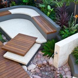 Garden nook Modern Garden Design Ideas, Pictures, Remodel, and Decor - page 5