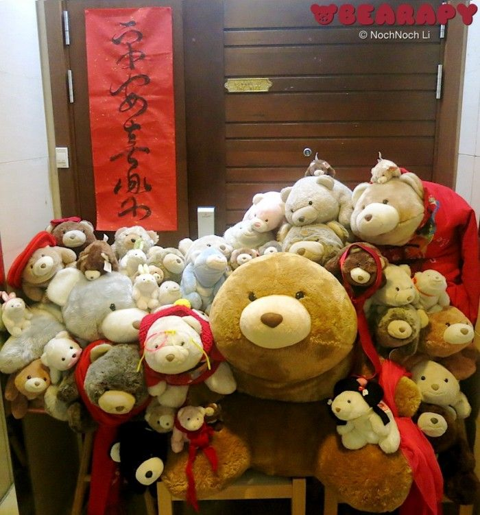 Happy Chinese New Year! Gund Snuffles. By Noch Noch the Bearalist at Bearapy. http://Bearapy.me
