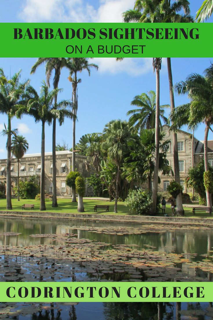 Codrington College, overlooking the east coast of Barbados, is a perfect morning's excursion... and it's FREE.
