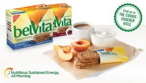 belVita crunchy Breakfast Biscuits are made with delicious ingredients and carefully baked to release nutritious sustained energy, all morning long. They are a good source of Fiber and B-vitamins, contain no high fructose corn syrup, have 18-20 grams of whole grain per 50 gram serving and taste great, which makes belVita crunchy Breakfast Biscuits perfect for when you are on the go.�Facts: Nutritious sustained energy all morning18-20 grams of whole grains per 50 gram serving