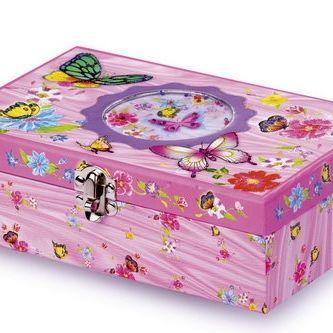 In deze roze kartonnen doos zit alles wat een kleine prinses nodig heeft om te tekenen, knutselen en schrijven. Van notitieblok, liniaal, plakstift, plakbandroller, vlakgom tot en met een sleutelhanger en kleine notitieblaadjes.