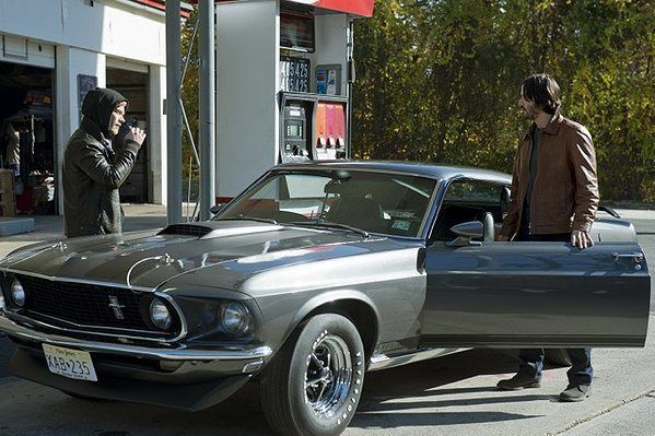 '69 Mustang Boss from the film John Wick with Keanu Reeves