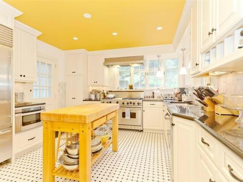 Love the yellow! Brewster, NY | Douglas Elliman elliman.com: Kitchens, Fine House, War Spy, Dream House, Crosby Roads, Dirt Roads, Roads Brewster