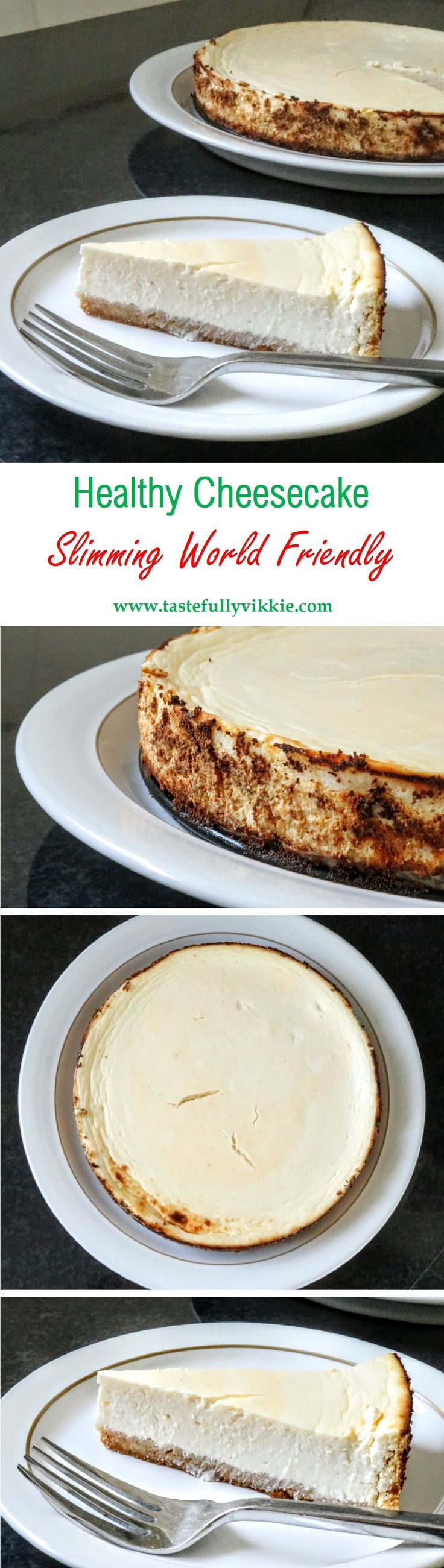 healthy slimming world cheese cake More