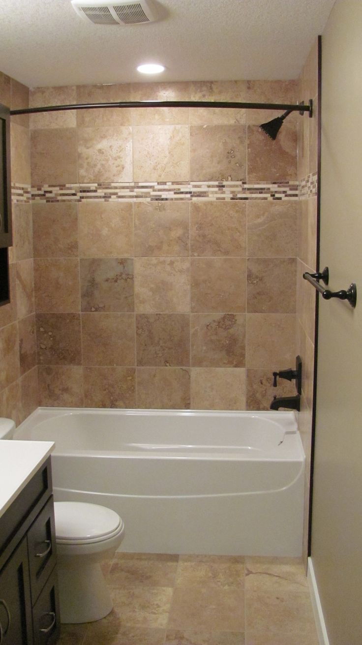 bathroom good looking brown tiled bath surround for small bathroom decoratoin - Bathroom Tile Ideas Bathroom